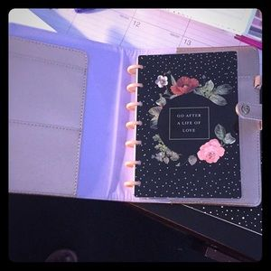Mini happy planner with cover